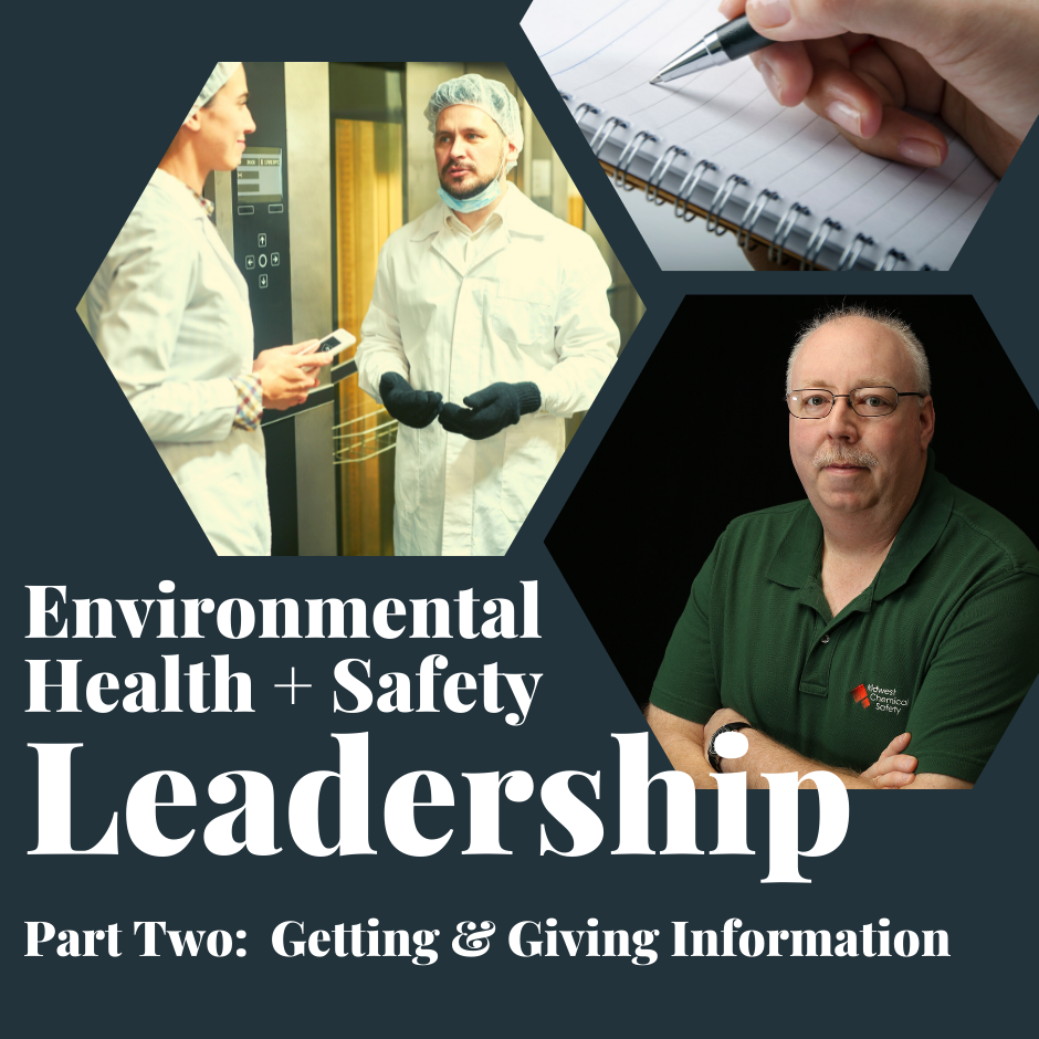 Giving Information in EHS Leadership