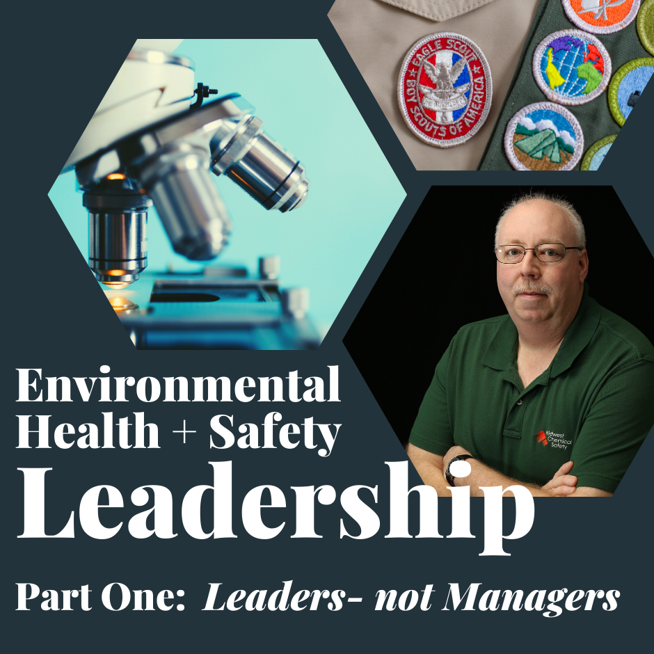 Leaders- Not Managers in EHS Leadership